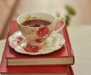 afternoon tea, tea time, and books image