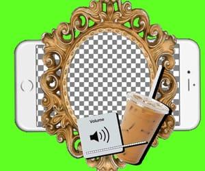 edit, iced coffee, and overlay image
