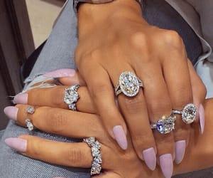diamonds, ring, and jewelry image