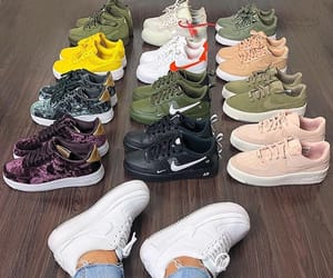 sneakers, fashion, and girl image