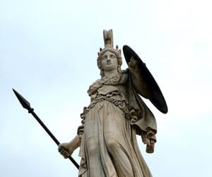 statue, athena, and goddess image