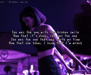 break up, music, and purple image