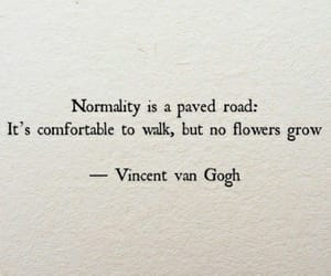 flowers, quotes, and life image