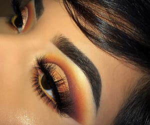 beautiful, eyes, and eyeshadow image