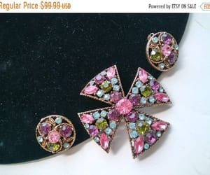 etsy, maltese cross, and rhinestone cross image