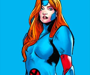 comics, Marvel, and jean grey image