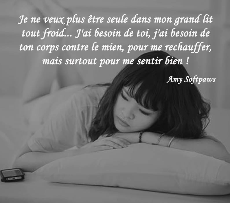 Citation Tu Me Manques Shared By Amy Softpaws