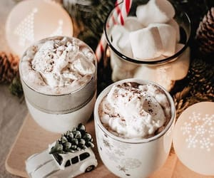 coffee, christmas, and holiday image