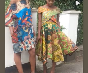 African, fashion, and tops image