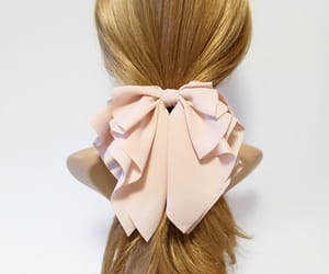etsy, chiffonhairbow, and bow barrette women image