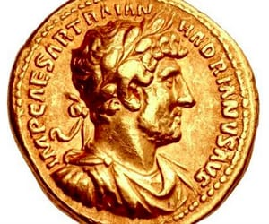 coin, rare, and hadrian 119ad image