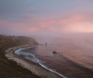 sea, landscape, and ocean image
