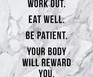 motivation, quotes, and workout image