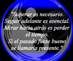 presente, vida, and frases español image