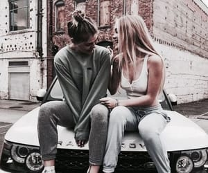 city, street style, and friendship image