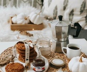 autumn, Cookies, and hot drinks image
