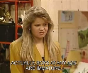 full house, 90s, and dj tanner image