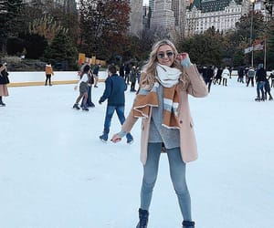 beauty, cold, and ice skates image
