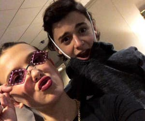 millie bobby brown, icon, and noah schnapp image