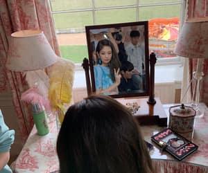 korean, rose, and jennie image