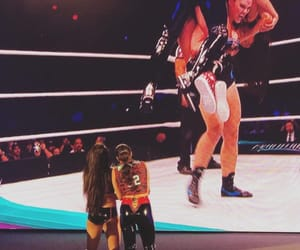 wrestling, nikki bella, and wwe image