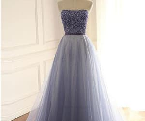 long bridesmaid dress, prom dresses ball gown, and corset prom dresses image
