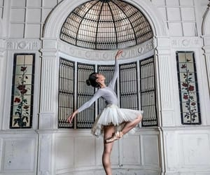 art, dance, and pointe shoes image