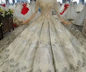 ball gown, quinceanera dresses, and fashion image