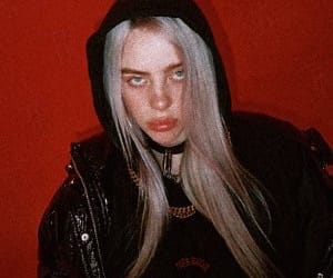 billie eilish and red image