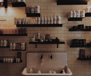 bathroom, beauty, and black image