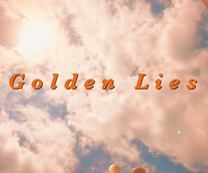 lies, aesthetic, and golden image