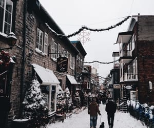 christmas, snow storm, and harry potter image