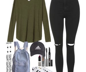 outfit, Polyvore, and polyvore outfits image