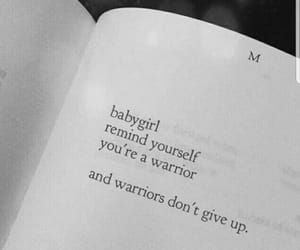 quotes, warrior, and girl image