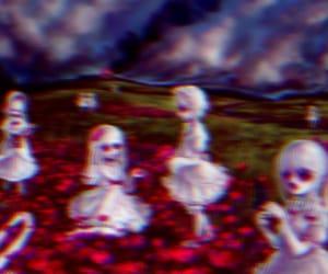 creep, creepy, and gore image