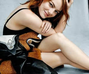 emma stone, wow, and girl image