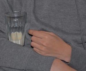 aesthetic, grunge, and milk image