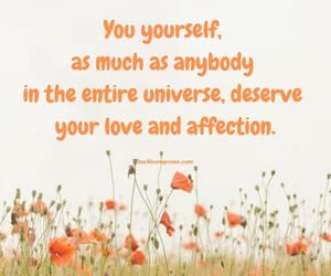 love and, affection., and you yourself image