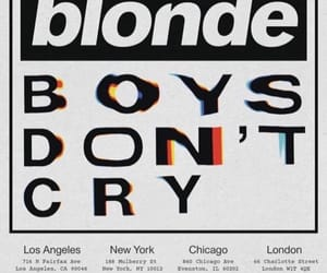 frank ocean and boys don't cry image