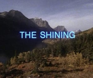 The Shining, horror, and movie image
