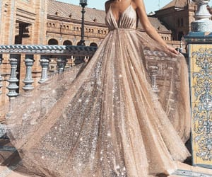 fashion, girl, and Prom image