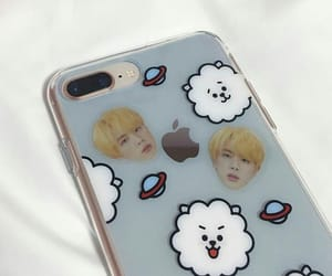 jin, bts, and bt21 image