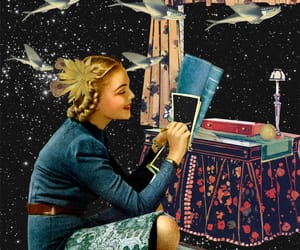 art, Collage, and surrealism image