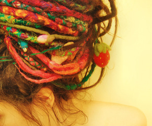 color, dreads, and photo image