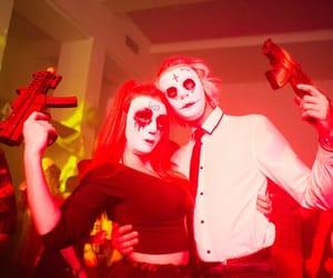 costume, mask, and Halloween image