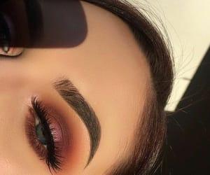 makeup, girl, and fashion image