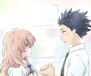anime, koe no katachi, and movie image