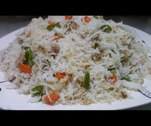 video, chinese recipes, and chinese fried rice recipe image