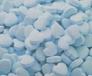 blue, heart, and aesthetic image