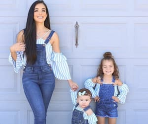 daughters, family, and fashion image